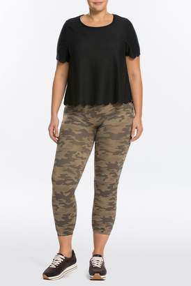Spanx Cropped Lamn Leggings (Plus Size)