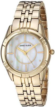 Anne Klein Women's AK/3170MPGB -Tone Bracelet Watch