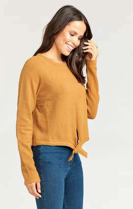 Show Me Your Mumu Shelby Sweater ~ Camel Cozy Knit