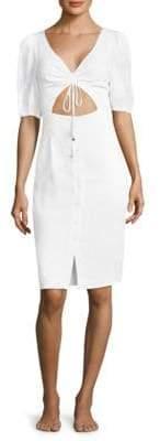 6 Shore Road by Pooja Palmetto Linen Dress