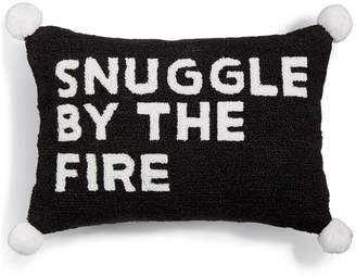 """Martha Stewart Collection Snuggle By The Fire 14"""" x 20"""" Decorative Pillow"""