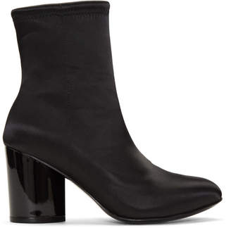 Opening Ceremony Black Satin Dylan Boots