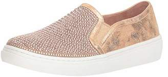 Skechers Women's Goldie-Rhinestone and Pearl Embellished Slip on Sneaker