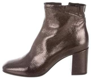 Coclico Metallic Ankle Boots