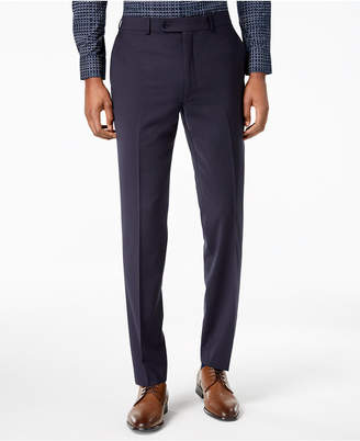 Calvin Klein Men's Skinny-Fit Infinite Stretch Navy Suit Pants