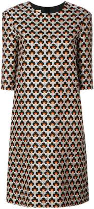 Marni Portrait print shift dress