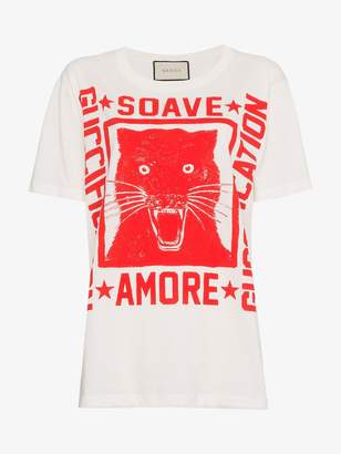 "Gucci Soave Amore Guccification"" print T-shirt"