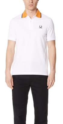 Fred Perry By Raf Simons Fred Perry by Raf Simons Contrast Collar Pique Shirt