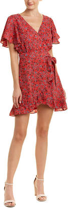 BB Dakota Floral Sheath Dress
