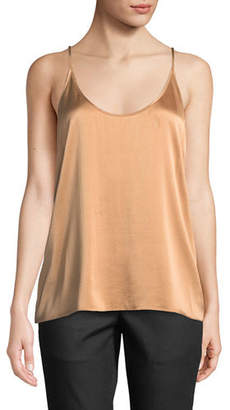 Eileen Fisher Silk Charmeuse Cami Top, Petite
