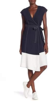Joie Mahesa Wrap Dress