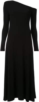 Rosetta Getty off-shoulder jersey dress