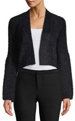 Calvin Klein Fuzzy Long Sleeve Cardigan