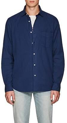 Hartford Men's Cotton Twill Shirt - Blue