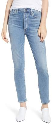 Citizens of Humanity Olivia High Waist Ankle Slim Jeans