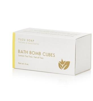 Yuzu Soap Lemon Tea Tree Bath Bomb Cubes