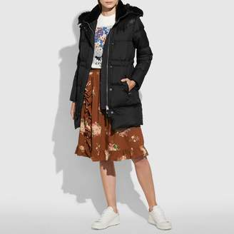 Coach New YorkCoach Shearling Puffer Coat