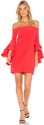 Milly Selena Ruffle Dress