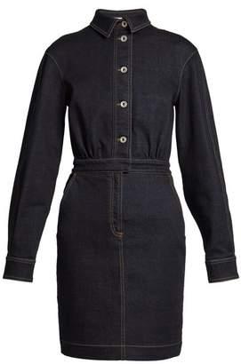 Stella McCartney Annamaria point-collar denim dress
