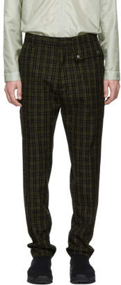 Cmmn Swdn Black and Yellow Stenson Trousers
