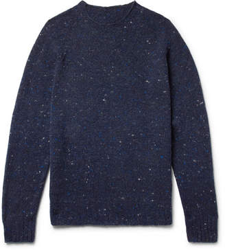 Anderson & Sheppard Mélange Virgin Wool And Cashmere-Blend Sweater