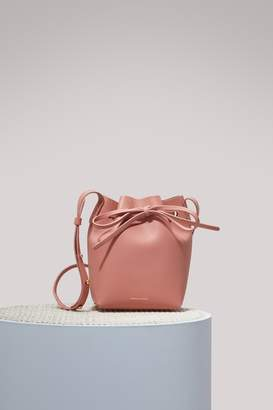 Mansur Gavriel Calfskin leather mini mini bucket bag