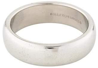 Tiffany & Co. Platinum Wedding Band