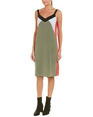 Equipment Women's Robbi Slip Dress with Contrast