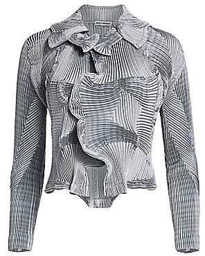 Issey Miyake Women's Corona Short Jacket