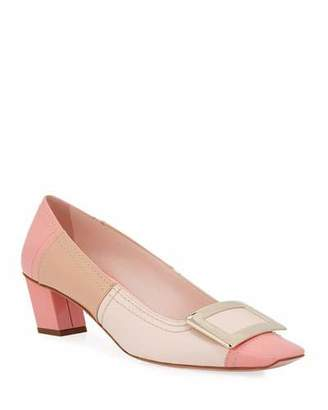 Roger Vivier Belle Vivier Two-Tone Patent Pumps