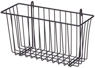 Honey-Can-Do Black Wire Shelving Basket