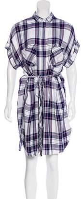 Rails Plaid Midi Dress