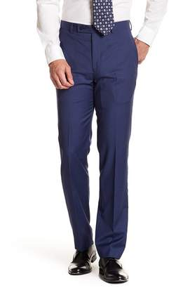 "Calvin Klein Solid Bright Blue Wool Suit Pants - 30-34"" Inseam"