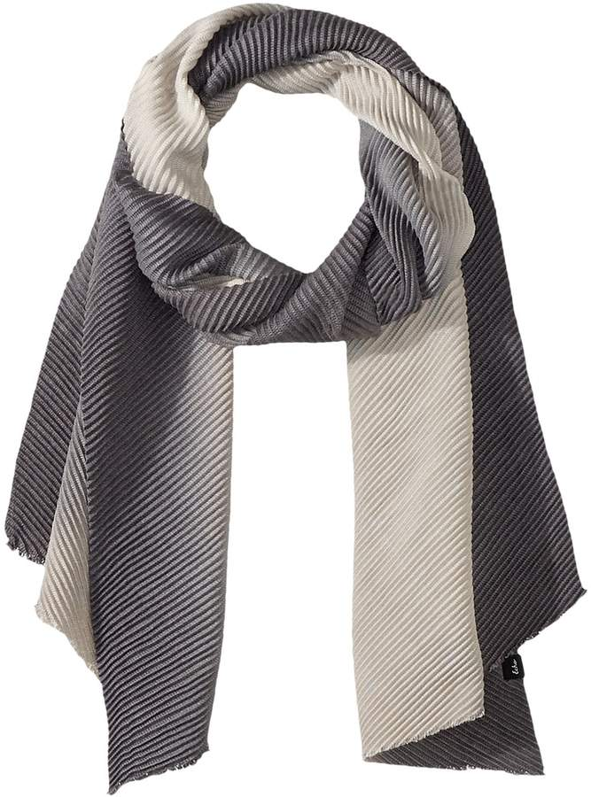 Echo Design - Ombre Pleated Muffler Scarves