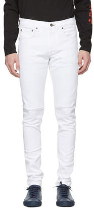 Rag & Bone White Distressed Fit 1 Jeans