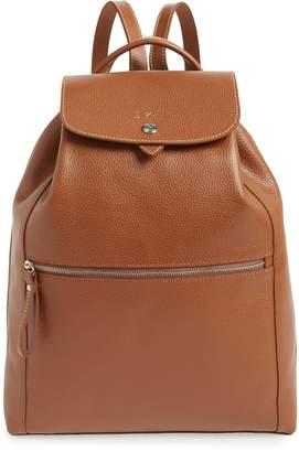 Longchamp Veau Leather Backpack