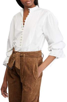 Polo Ralph Lauren Broadcloth Long-Sleeve Shirt