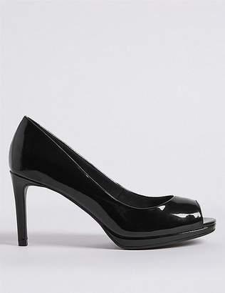 Marks and Spencer Stiletto Heel Platform Court Shoes