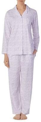 Eileen West Long Printed Pajama Set