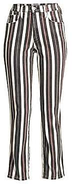 Frame Women's Le Sylvie Band Stripe Jeans