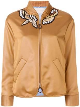 Marco De Vincenzo embroidered bomber jacket