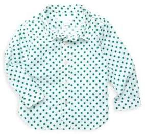 Burberry Baby Boy's Jayce Cotton Dress Shirt