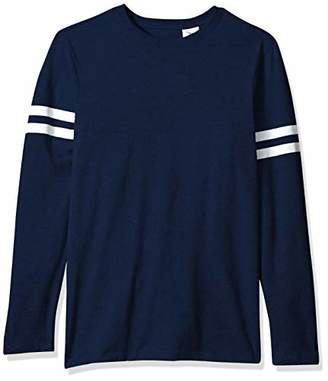 Soffe Men's Striped Tee with Long Sleeves
