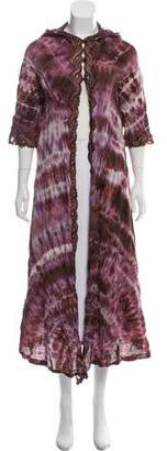 Emilio Pucci Lace-Accented Cover-Up