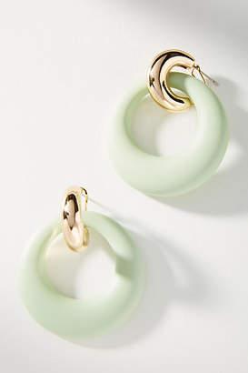 Reliquia Jewellery Valet Hooped Post Earrings