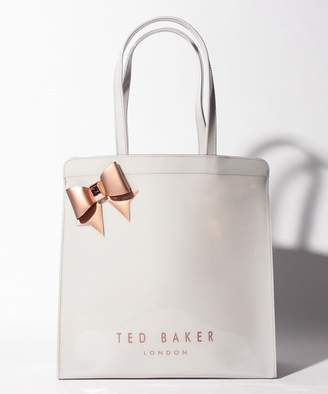 Ted Baker 【17%OFF】テッドベイカーテッドベーカー 146492 AURACON トート L.GY 09ユニセックスライトグレーF【 】【タイムセール開催中】