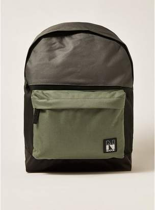 Topman Mens Multi NICCE Colour Block Backpack