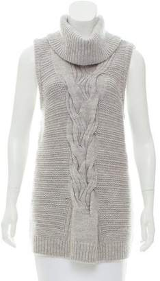 Intermix Wool Cable Knit Sweater