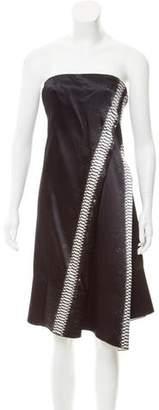 Reed Krakoff Asymmetrical Pleated Dress
