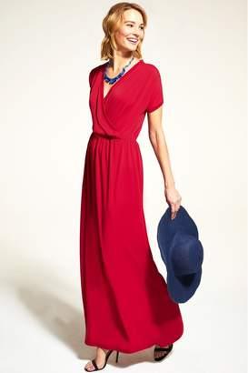 33b58d7f5 Hot Squash Womens HotSquash Red Maxi Dress - Red